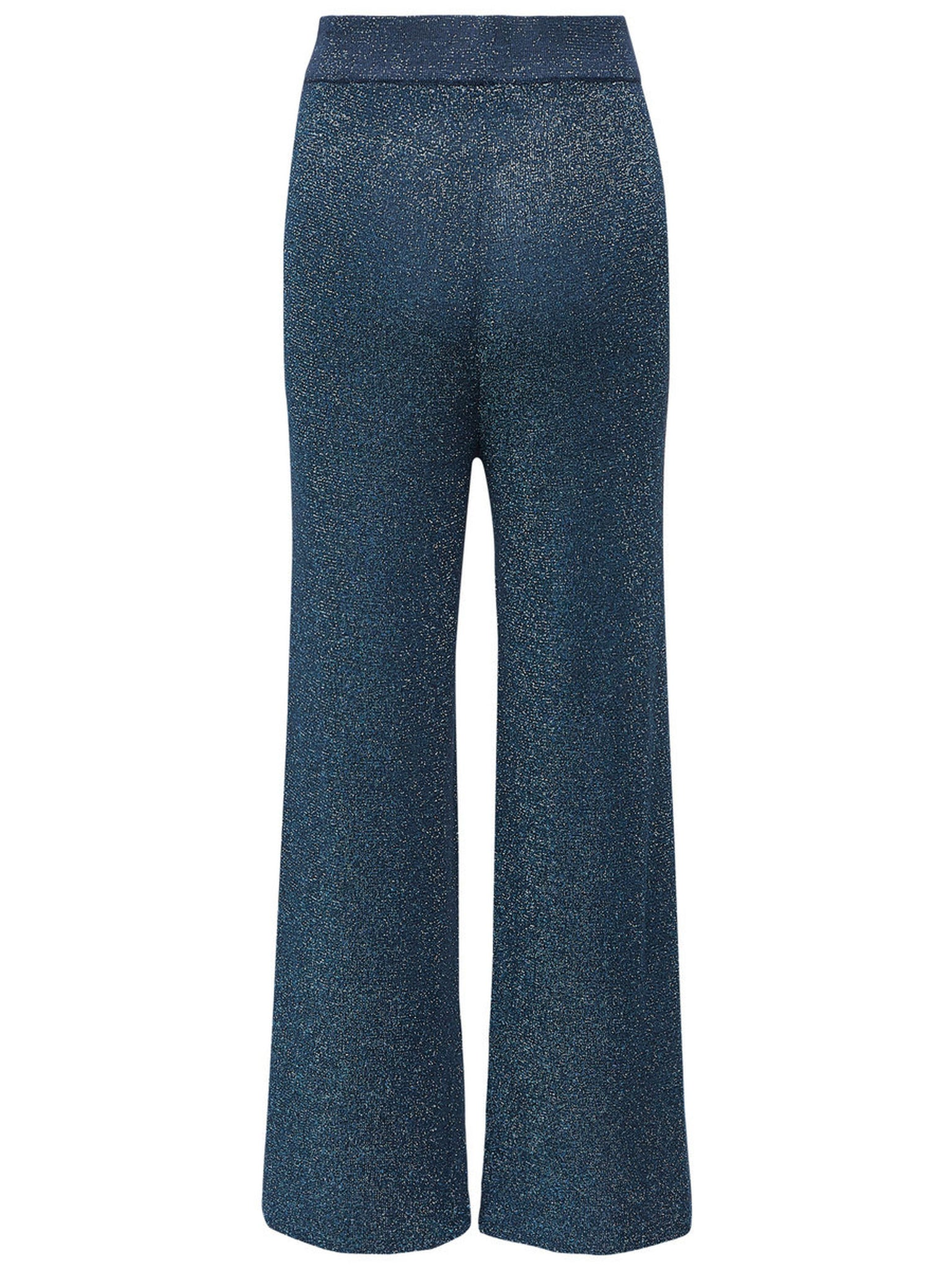 Glitter Trouser In Blue