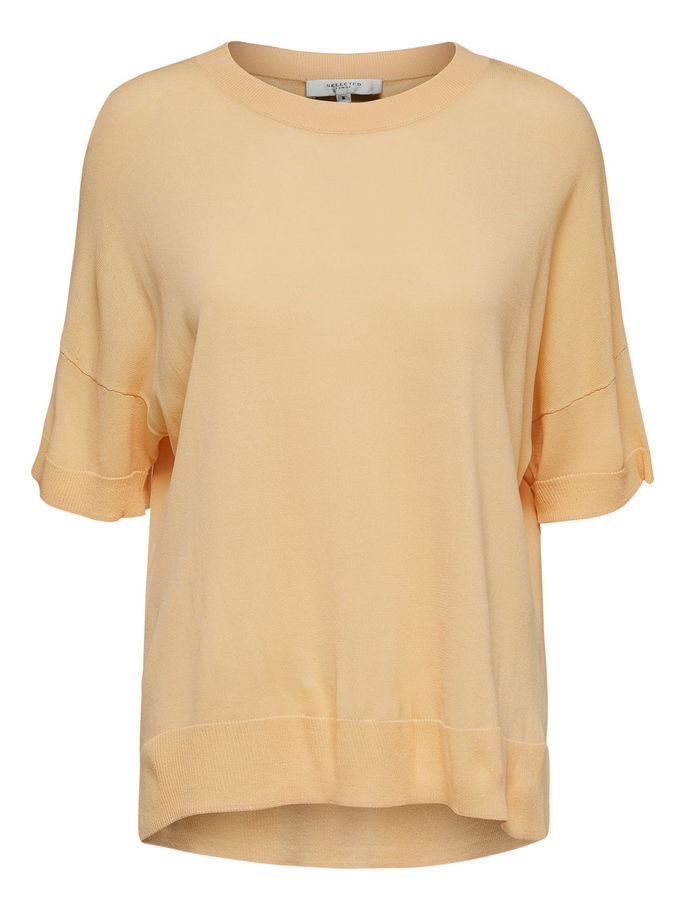 Willow Oversized T-Shirt in Apricot