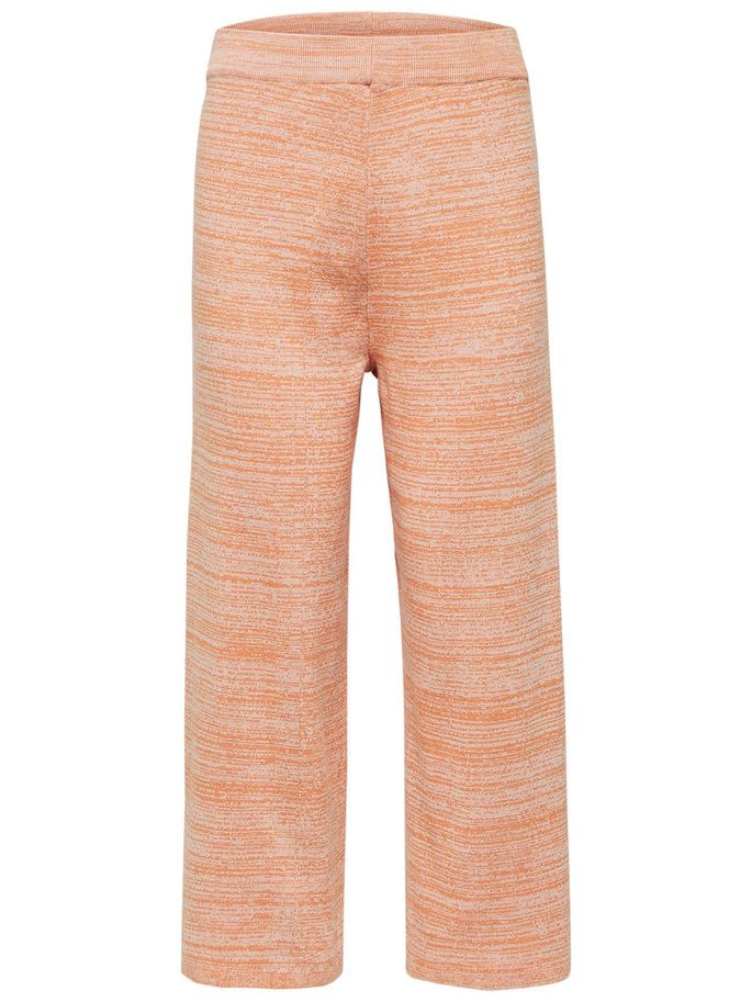 Stefania Culotte Pants in Coral Gold