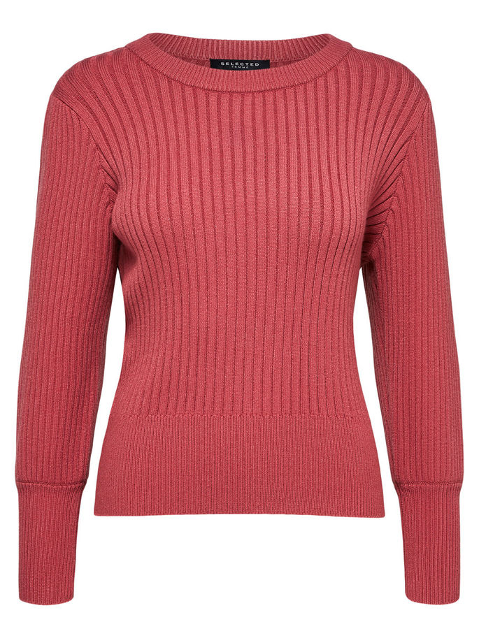 Pinna Knitted Sweater in Slate Rose