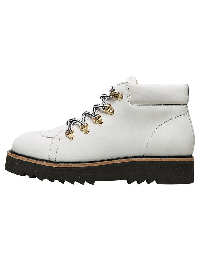 Mira Hiking Boots in White
