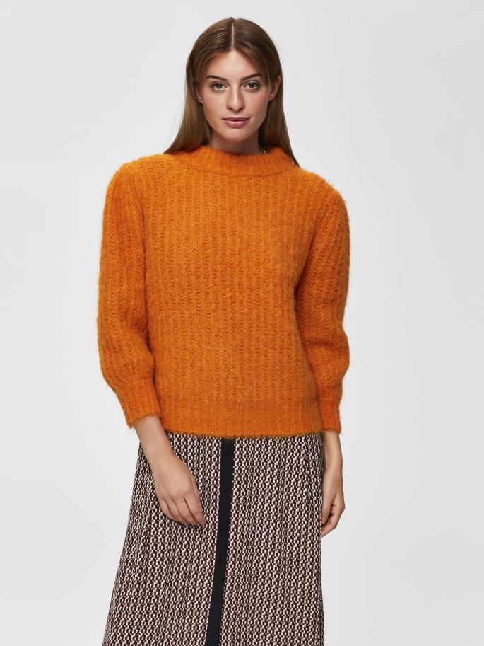Pippa Knitted Pullover in Hawaiian Sunset