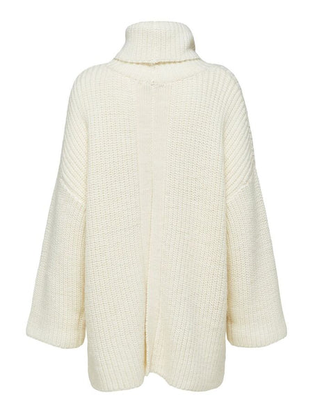 Mille Rollneck Sweater in White