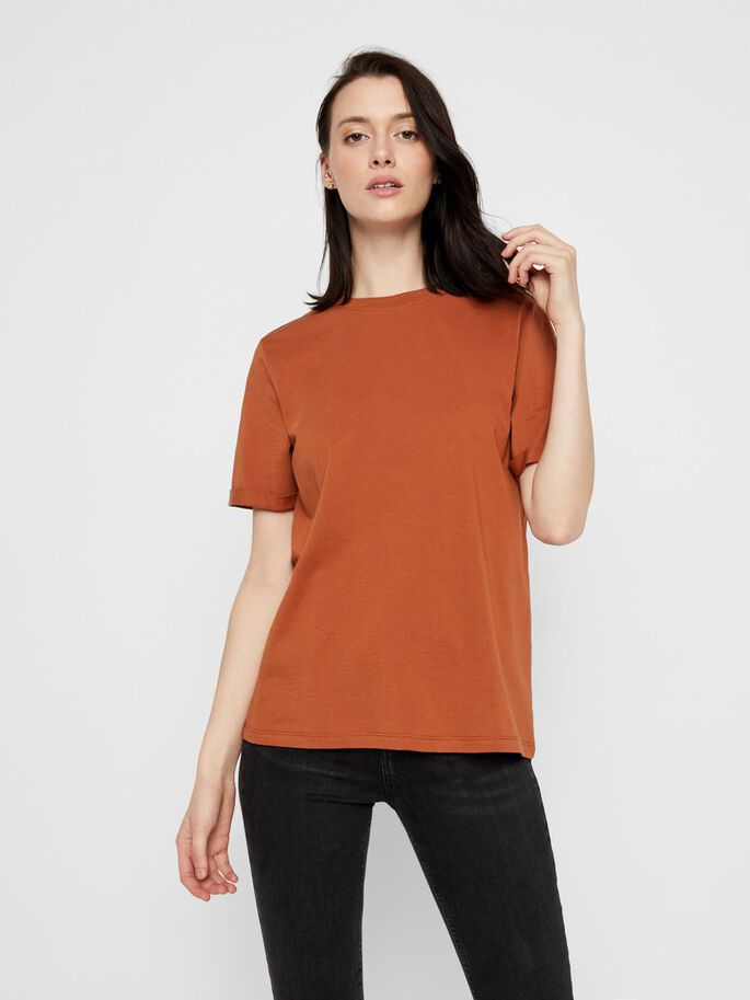 Ria Tee in Mocha Bisque