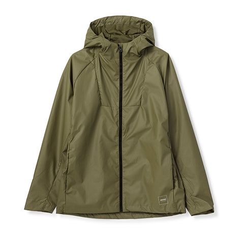 Bio Plant Jacket in Leaf Green