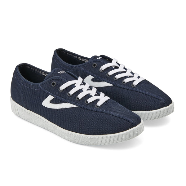 Nylite Sneaker in Midnight with white Trim