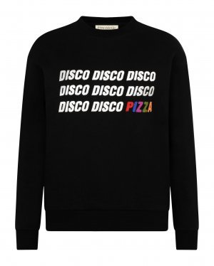 Disco Sweatshirt in Black
