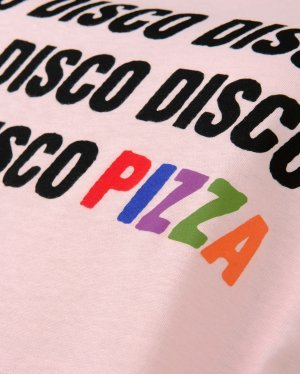 Disco Tee in Pink