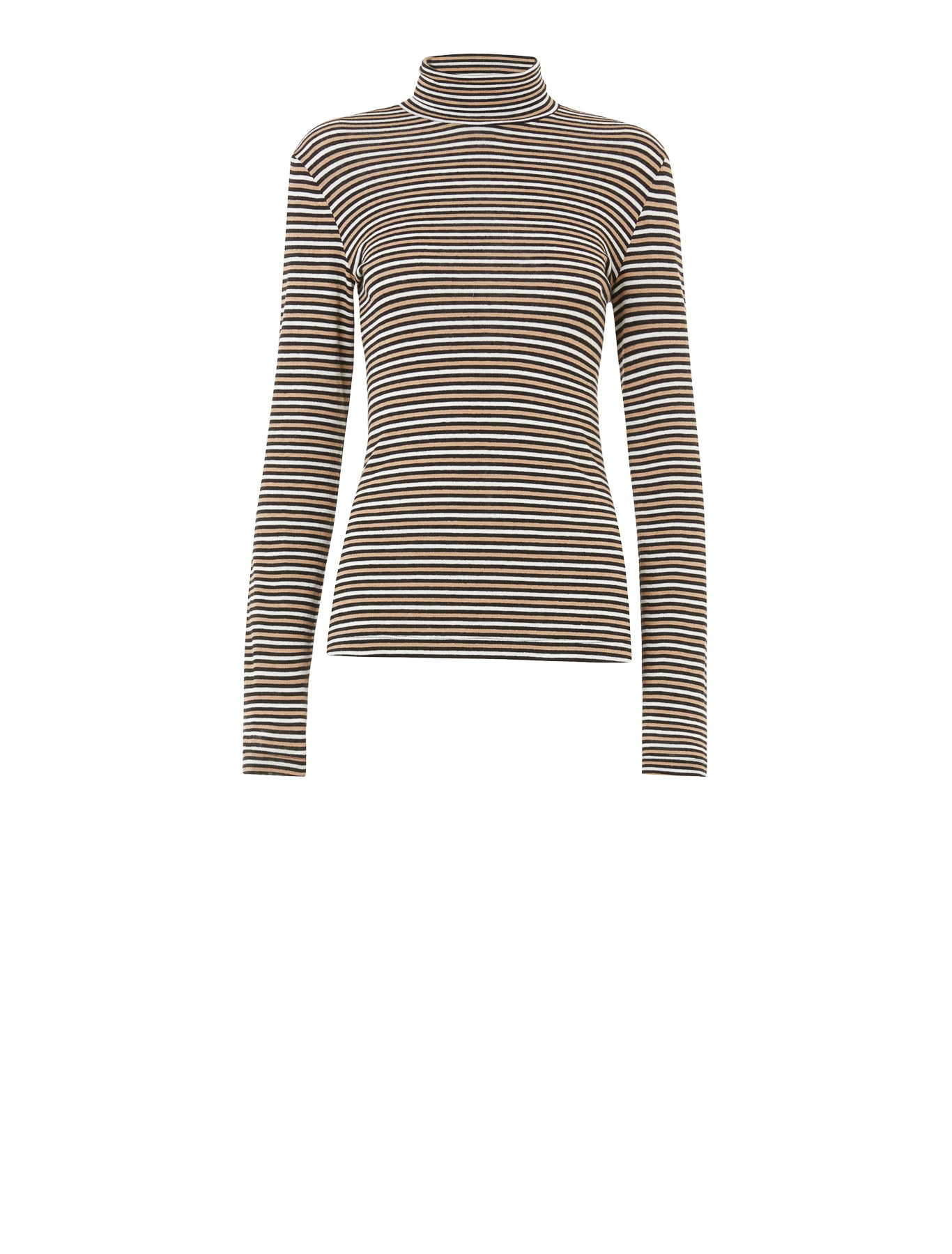 Taxi Turtleneck in Stripes