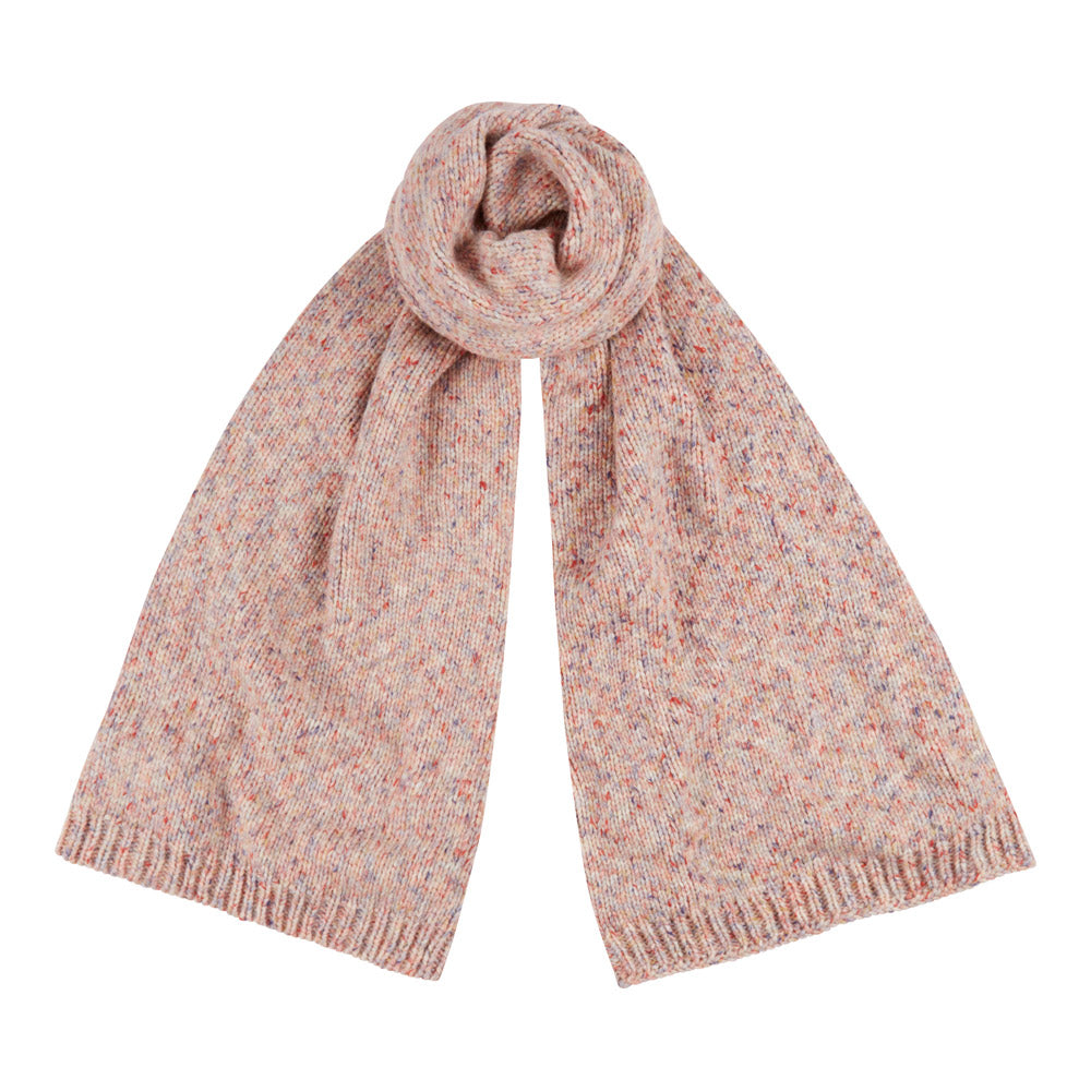 Cluster Scarf in Pink