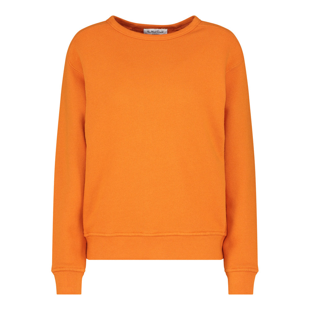 Almost Grown Sweatshirt in Orange
