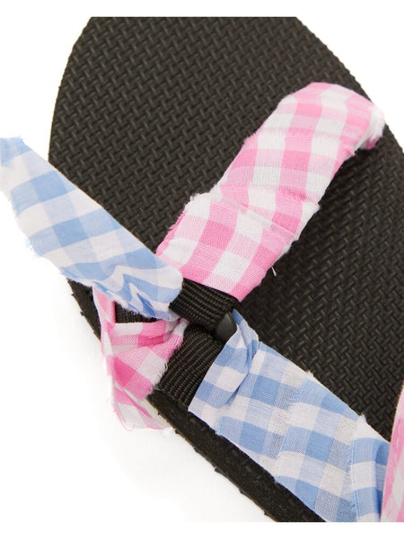 Pink and Blue Gingham Trekky