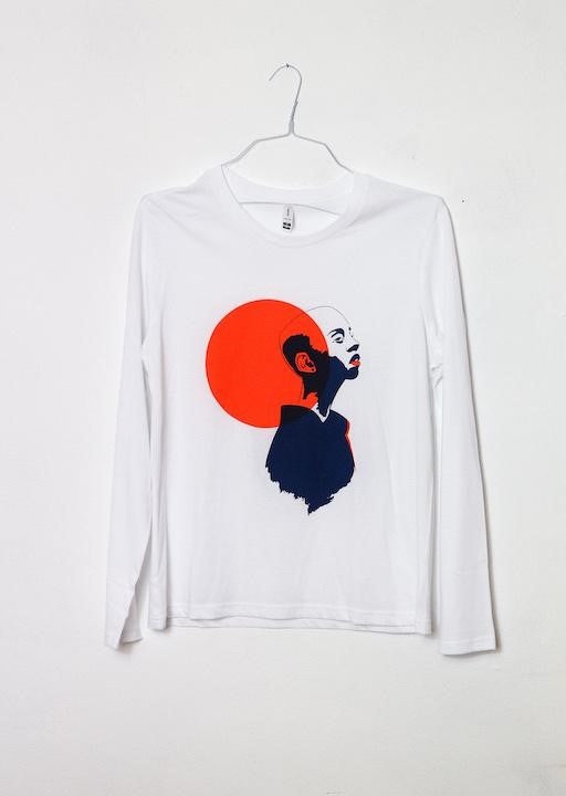 Printed Kiki Press Long Sleeve T-Shirt