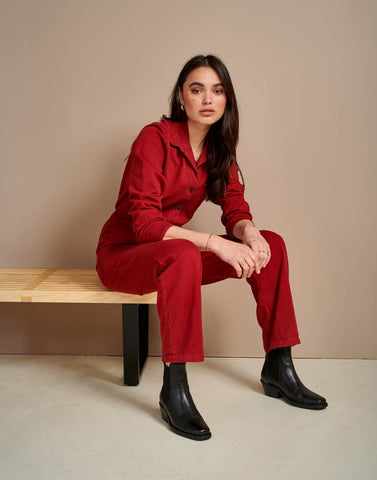 Litski Boilersuit in Red