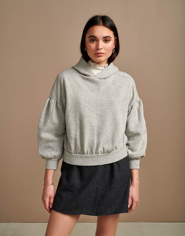 Bloom Sweatshirt in Grey