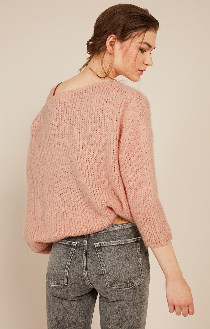 Boolder Sweater in Camellia