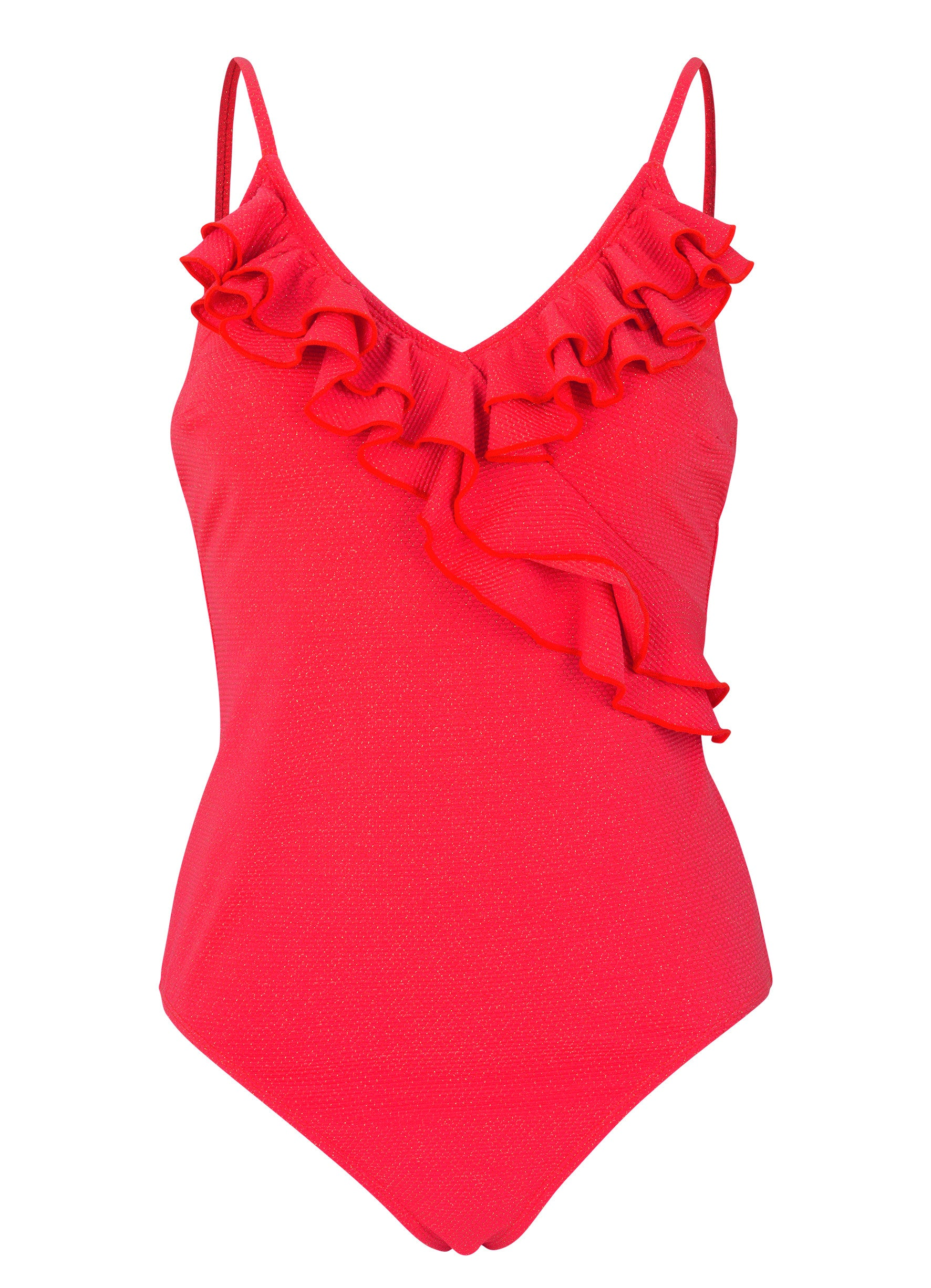 Bela Swimsuit in Red Love