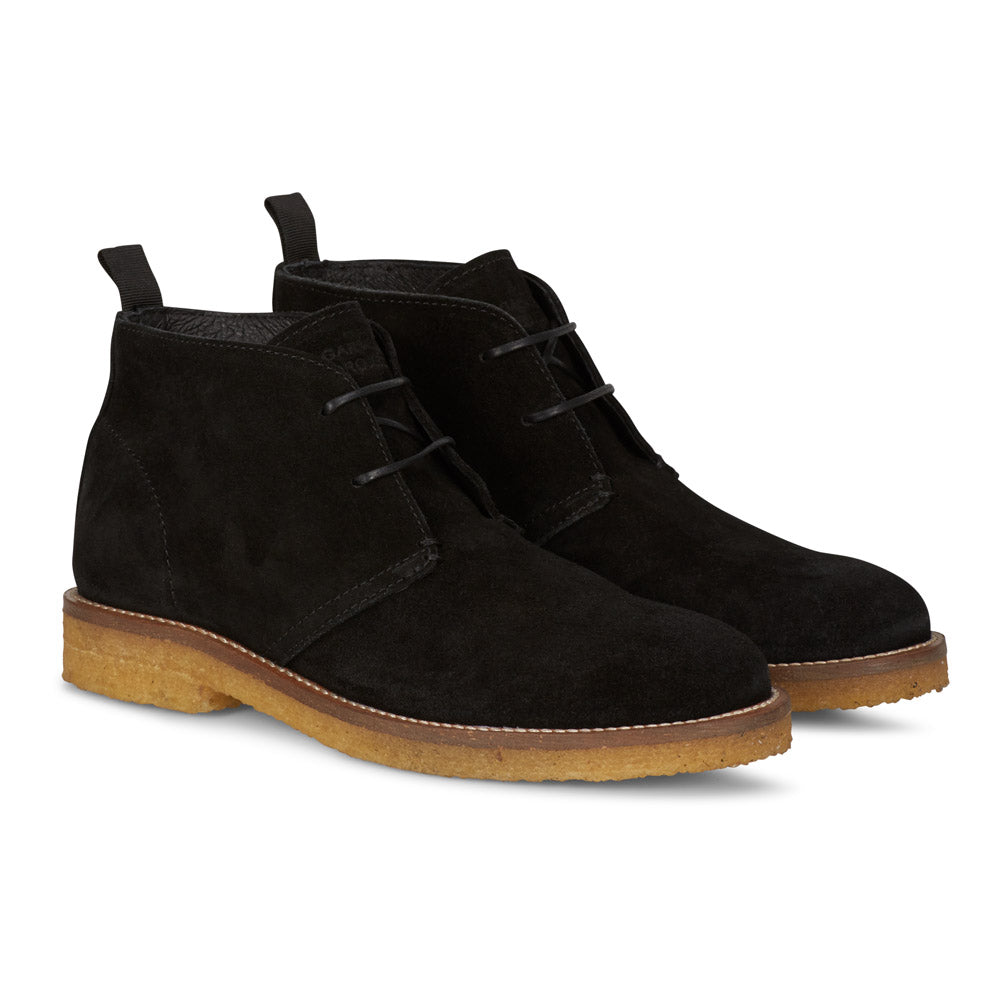 Desert Boot in Black Suede