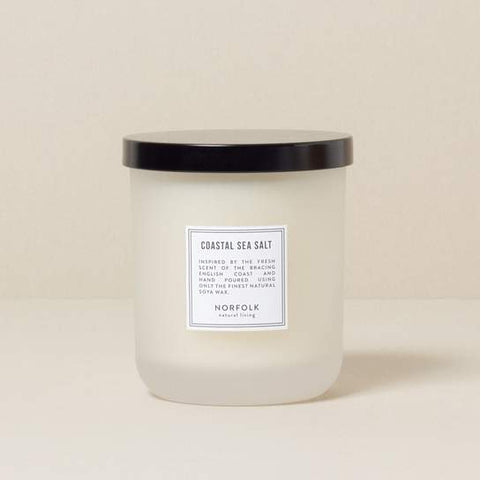 Coastal Sea Salt Scented Candle