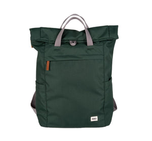 Finchley A Medium Sustainable Rucksack in Forest