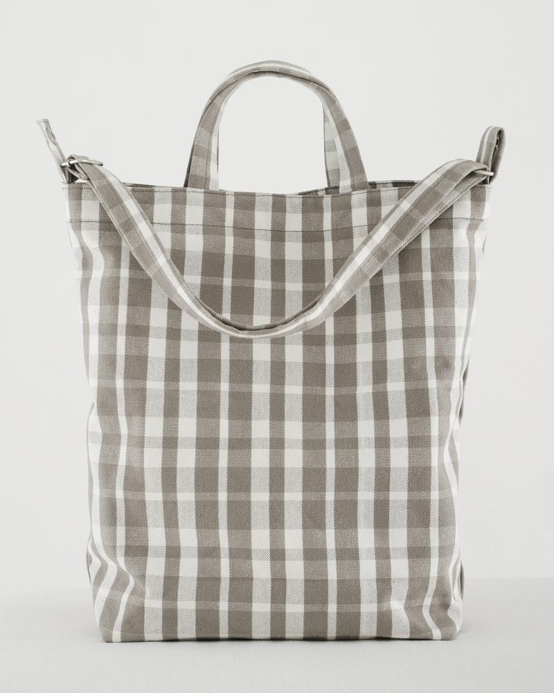 Duck Bag in Dove Plaid