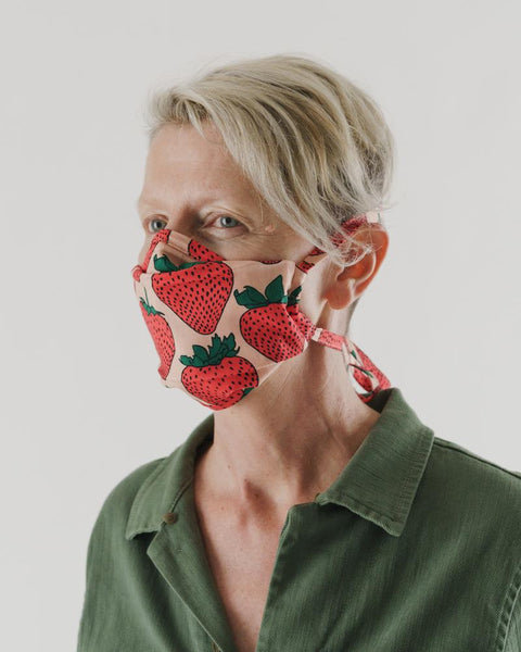 Backyard Fruits Tie Fabric Masks Set