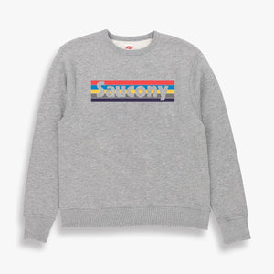 Saucony 80 Sweatshirt in Grey Marl