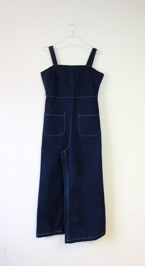 Romy Jumpsuit in Blue Demin