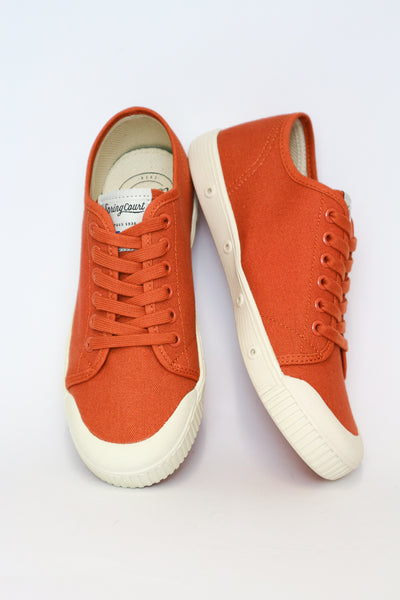 G2 Vintage Ochre Canvas Sneakers