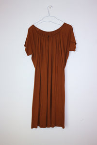 Whin Cotton dress in Honey