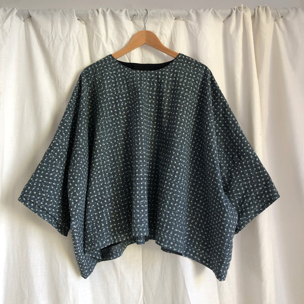 The Bradley Top - Grey Spot