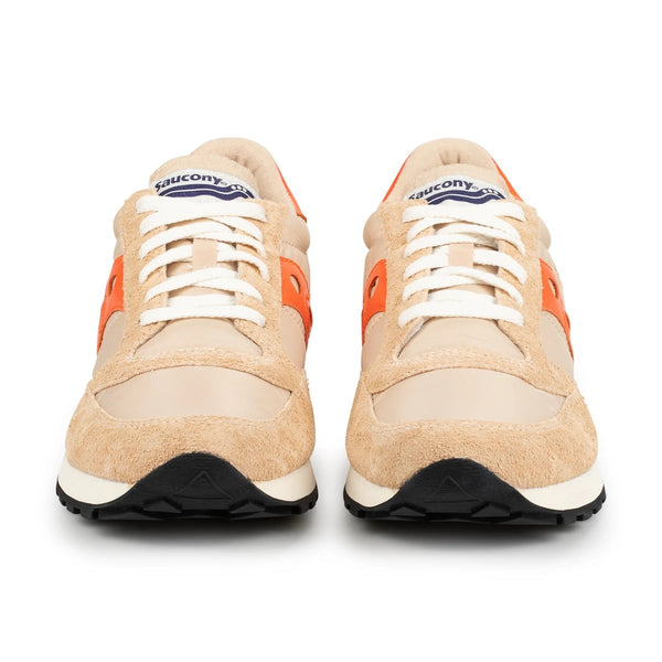 TSPTR x Saucony Jazz 81 Sneakers in Tan and Daybreak Orange
