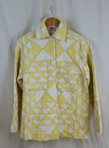 Ardmore Quilted Jacket in Soft Lemon