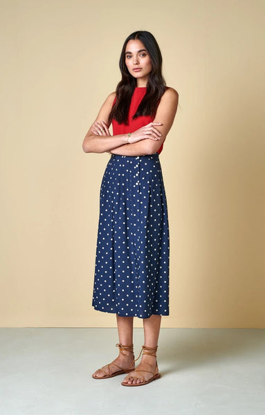 Lexo Skirt in Polka Dots