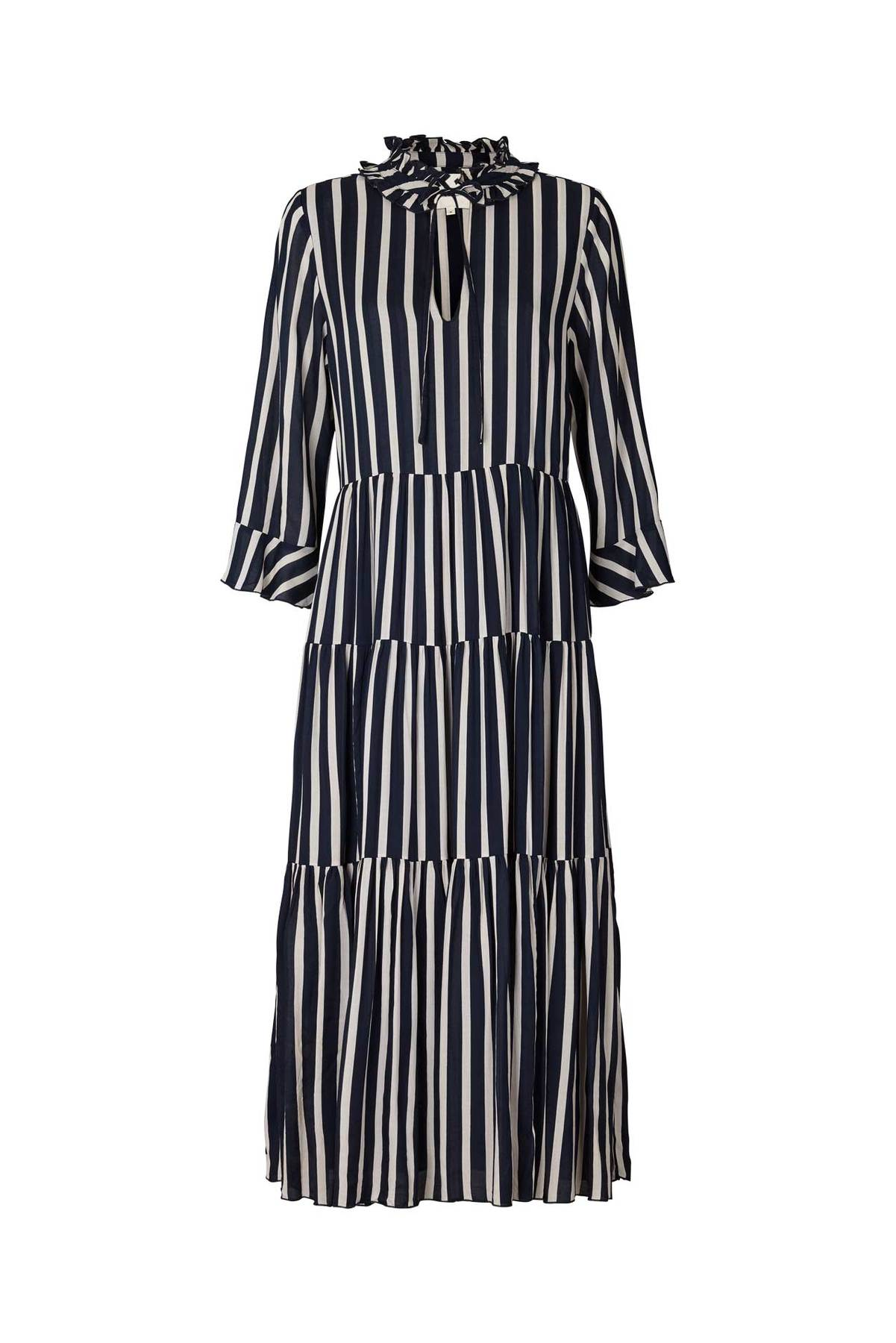 Liliya Dress in Stripes