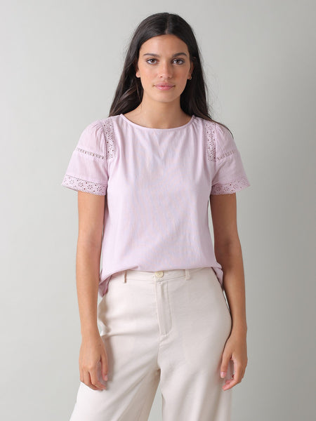 Jersey Tee in Lilac