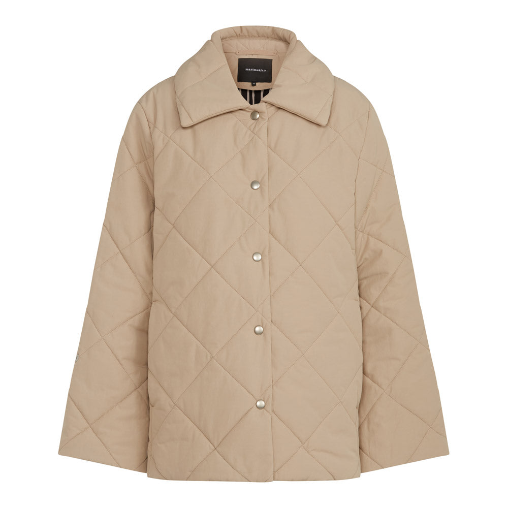 Ateja Coat in Beige