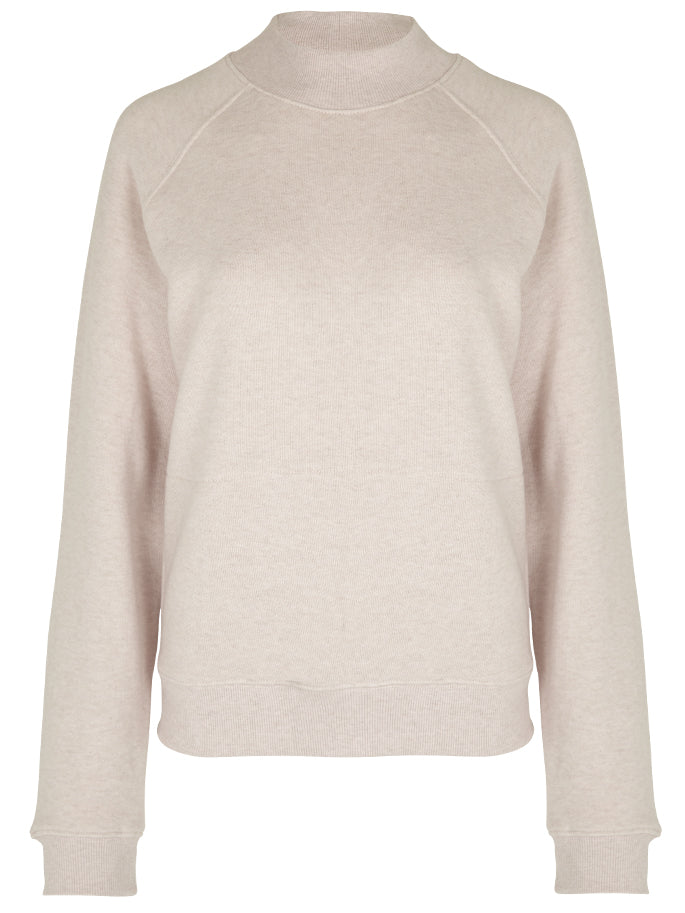 Touche Sweatshirt in Pale Pink