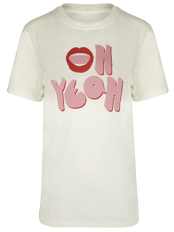 Oh Yeah T-Shirt in White