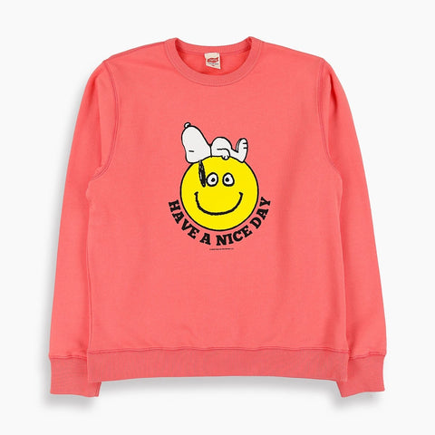Nice Day Snoopy Sweatshirt in Pink