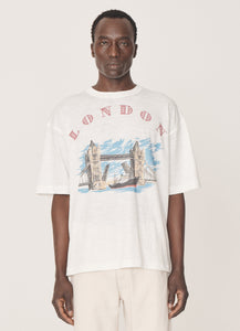 South of the River T-Shirt in White