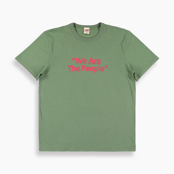 We Are The People T-Shirt in Olive