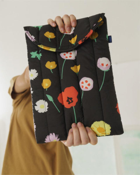 Floral Laptop Sleeve 16