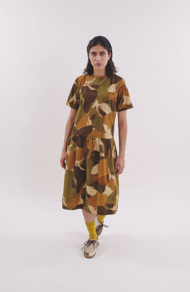 Perhacs Dress in Camo Print