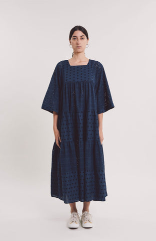 Paloma Dress in Navy