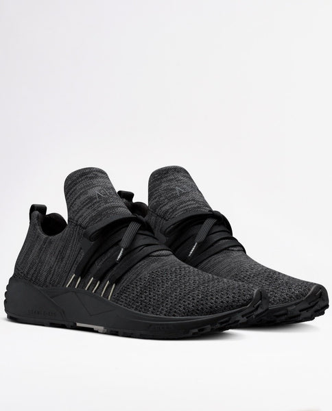 Raven FG Vibram Sneakers in Disrupted Black and Moon Grey