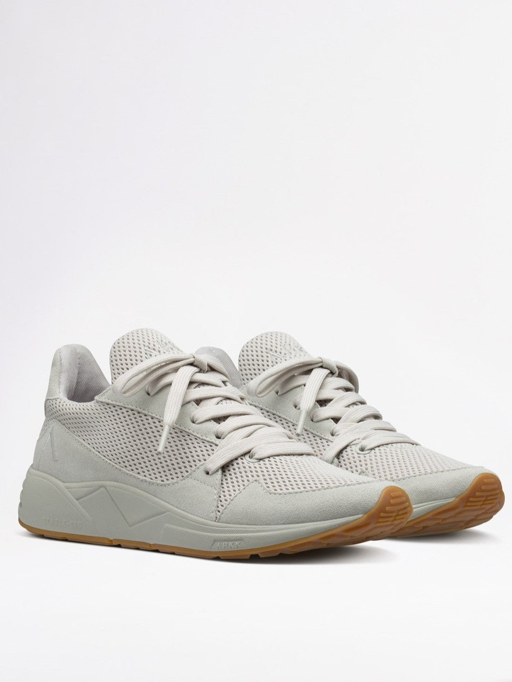 Serinin Mesh Sneakers in Moon Grey