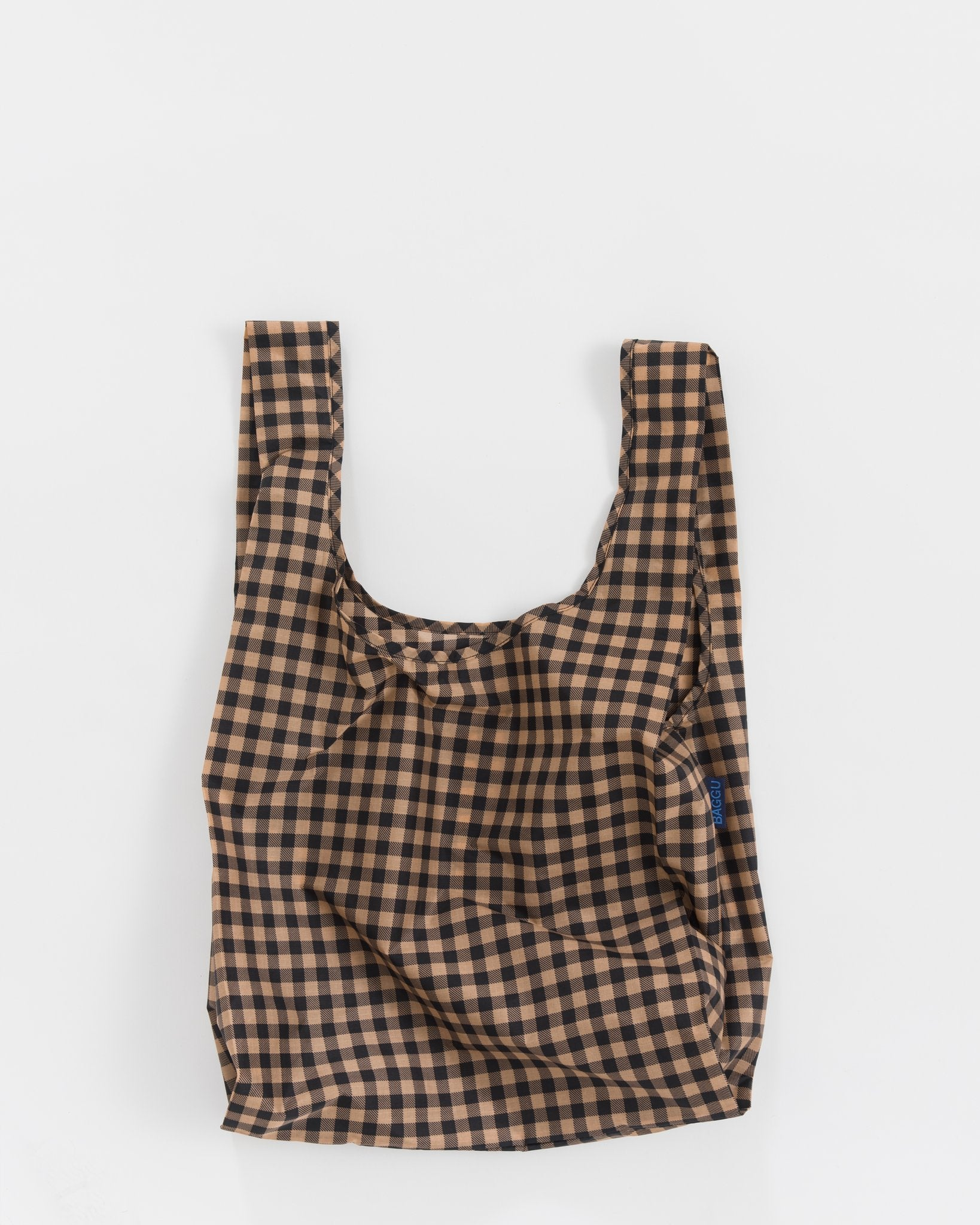 Copper Gingham Tote