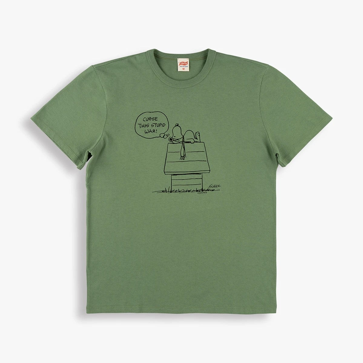 Stupid War T-Shirt in Olive