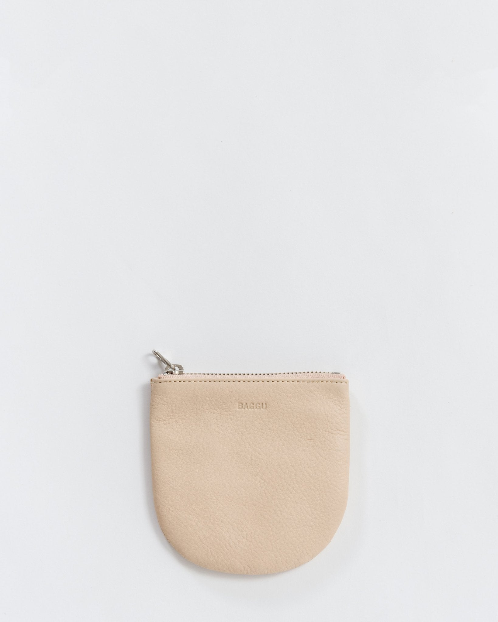 Small U Pouch in Natural
